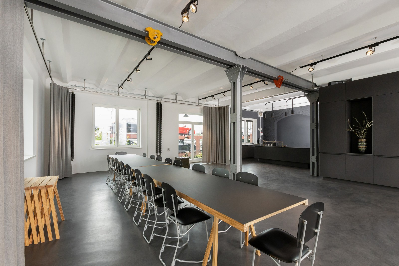 Innenarchitektur Office Eventlocation Weststadt Darmstadt 6
